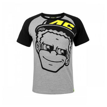 racepoint_valentino rossi t-shirt dottorino grau