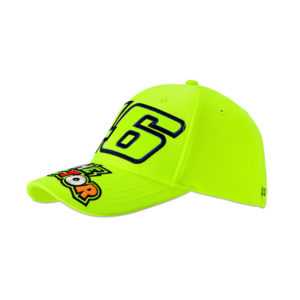 racepoint_valentino_rossi_cap_kids_the_doctor_fluo_gelb