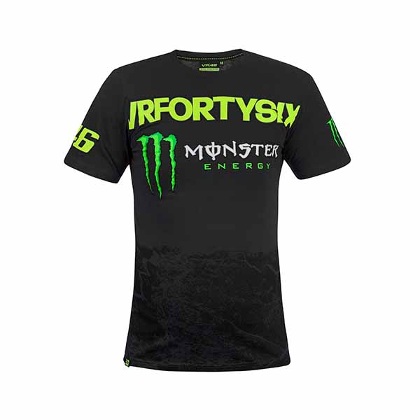 Valentino Rossi T Shirt Vr46 Monster Dual Racepoint Ch